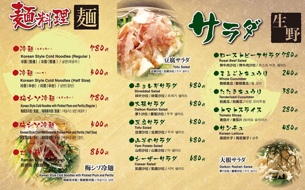 Salad Noodkes menu image